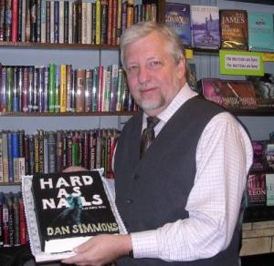 Dan Simmons signs Hard As Nails